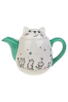 Чайник заварочный «Смешные котики»