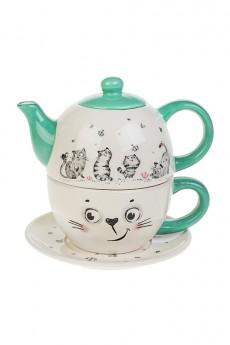 Набор чайный «Смешные котики»