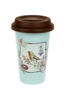 Стакан для чая/кофе «Птичка»