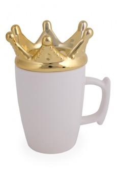 Кружка с крышкой «Корона»