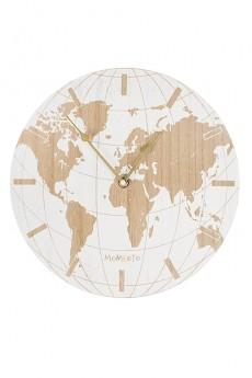 Часы настенные «Карта мира»