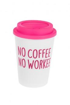 Термокружка «Нет кофе - нет работы»