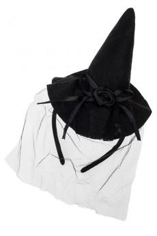Обруч на голову маскарадный для взрослых «Модная шляпка»