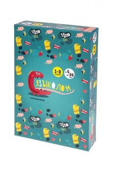 Игра настольная развлекательная карточная «Языколом»