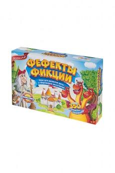 Игра настольная детская развивающая «Фефекты фикции»