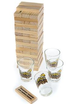 Игра настольная развлекательная «Пьяная башня»