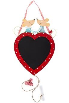 Доска-мемо «Мыши на сердце»