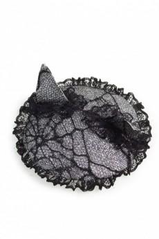 Заколка для волос маскарадная «Кошачьи ушки в паутине»