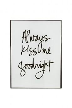 Репродукция «Всегда целуй меня на ночь»