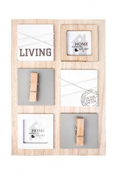 Рамка для 2-х фото «Любимый дом»