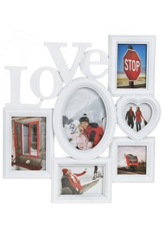 Рамка для 6-ти фото «Любовь»