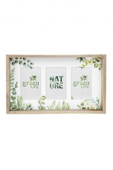 Рамка для 3-х фото «Нежность листвы»