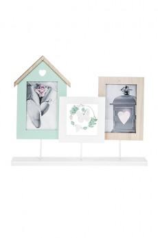 Рамка для 2-х фото «Милый дом»