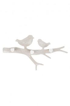 Вешалка декоративная «Влюбленные птички»