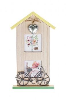Рамка для 2-х фото «Дом цветочницы»