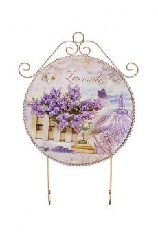 Вешалка декоративная «Лавандовое поле»