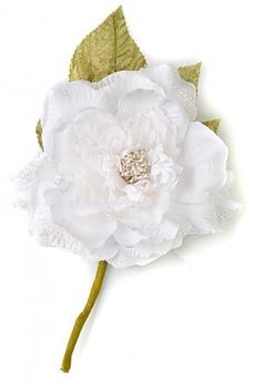 Цветок декор. «Заснеженная роза»