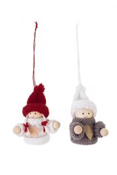 Набор кукол декоративных «Малыш в свитере»