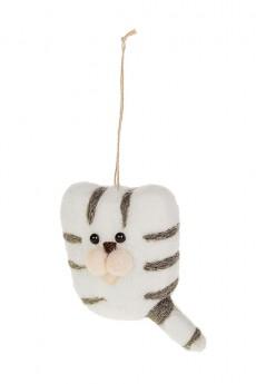 Украшение декоративное «Полосатый котик»
