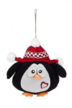 Игрушка мягкая «Пингвиненок в шапочке»