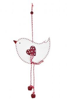 Украшение декоративное «Влюбленная птичка»