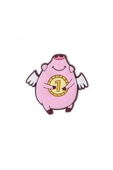 Держатель-магнит «Богатая свинка»