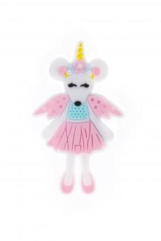 Держатель-магнит «Принцесса-мышка»
