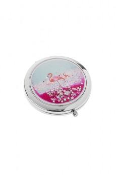 Зеркало карманное «Волшебный фламинго»