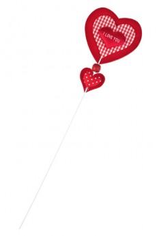Украшение на палке «Страстное сердце»