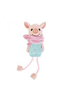 Держатель-магнит «Свинка в свитере»