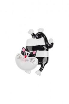 Держатель-магнит «Котик-полосатик»