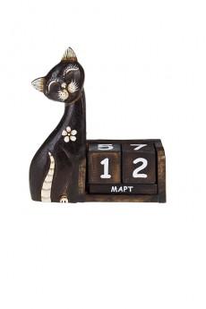 Календарь настольный «Красивая кошка»