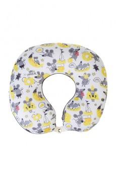 Подушка под шею-игрушка «Мыши и сыр»