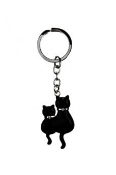 Брелок «Парочка котов»