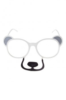 Очки маскарадные для взрослых «Белый медведь»