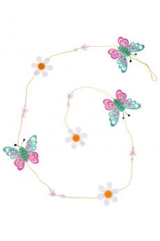 Украшение декоративное «Гирлянда из бабочек»