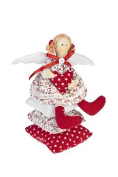 Кукла мягконабивная «Ангелочек на подушках»