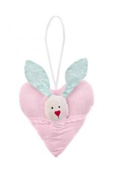 Украшение декоративное «Зайка в сердце»