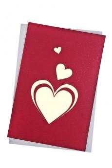 Открытка подарочная с объемными картинками «Любовь»