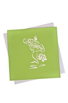 Открытка подарочная с объемными картинками «Букет»