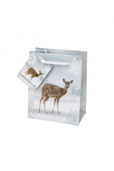 Пакет подарочный новогодний «Милый олененок»