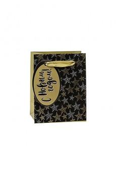 Пакет подарочный «Праздничные звездочки»