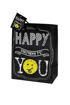 Пакет подарочный «Happy birthday to you»