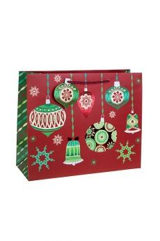 Пакет подарочный новогодний «Елочные шары»