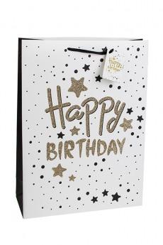 Пакет подарочный «С днем рождения»