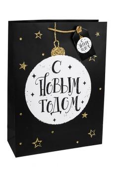 Пакет подарочный новогодний «Елочный шар»