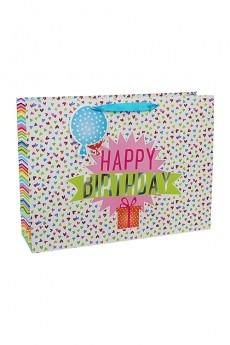 Пакет подарочный «Поздравляю!»