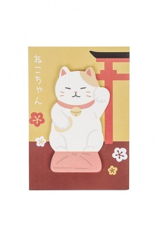 Мемо-стикеры «Китайский котик»