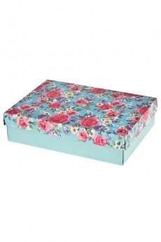 Коробка подарочная «Бархатные розы»