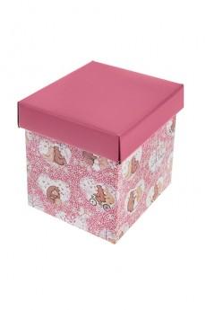 Коробка подарочная «Влюбленные медвежата»